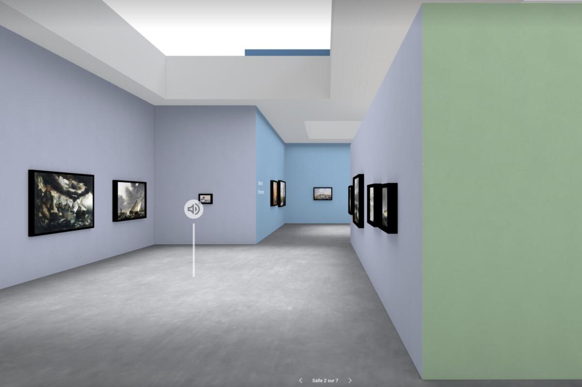 Vous pouvez désormais profiter des expositions en 3D sur votre ordinateur