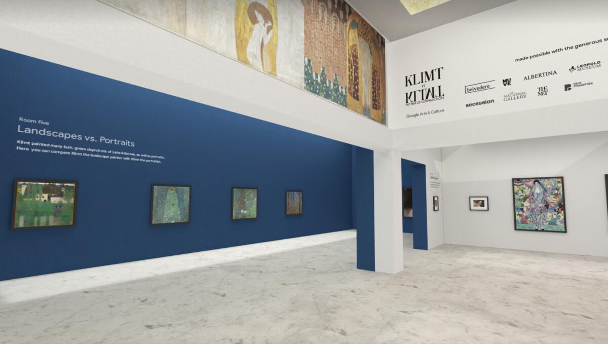 L'exposition virtuelle Klimt vs Klimt peut désormais être suivie sur le web
