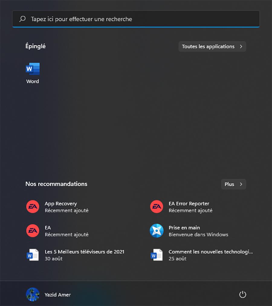 Windows 11 : comment supprimer les applications épinglées du menu Démarrer ?
