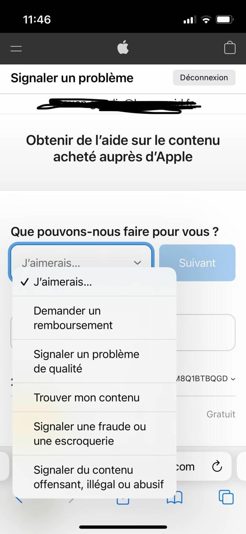 Nouveau signalement de fraude sur l'App Store