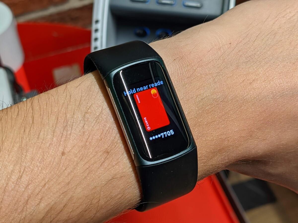 Fitbit Pay sur le Fitbit Charge 5