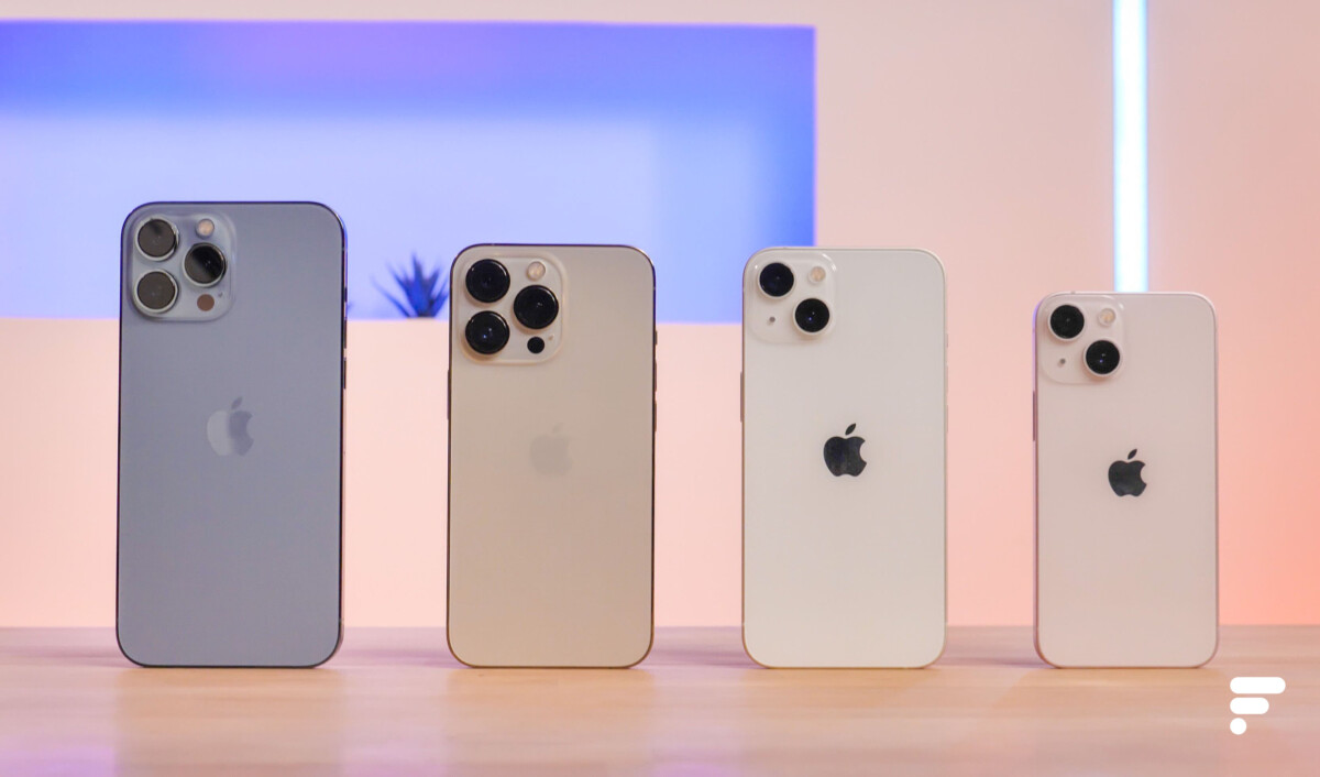 Toute la gamme d'iPhone 13 d'Apple