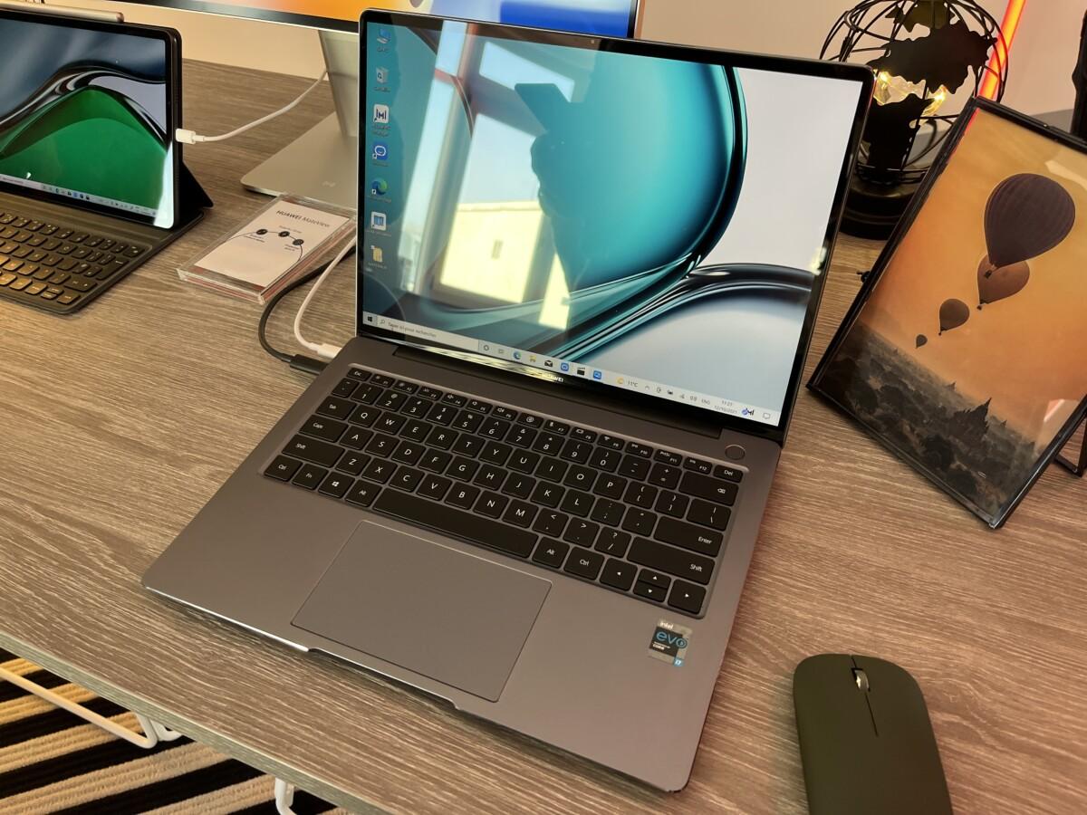 Huawei anuncia MateBook 14S en Francia: listo para Windows 11 y rendimiento