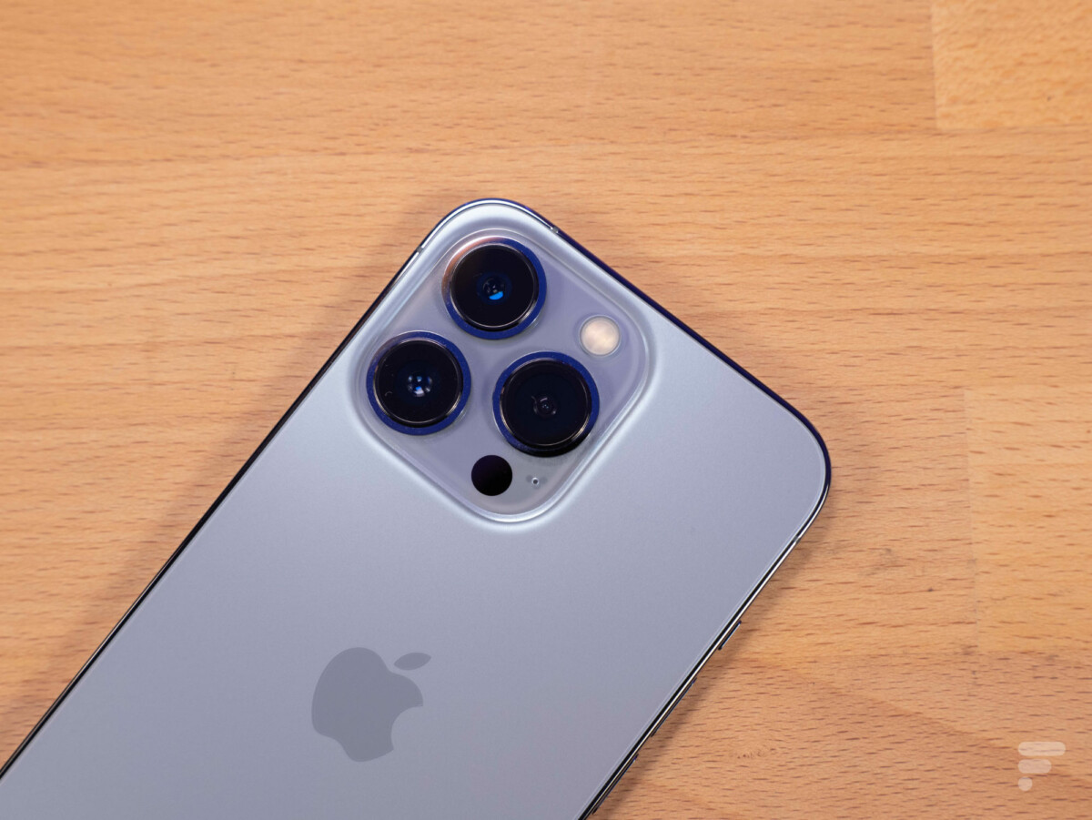 Le module photo de l'iPhone 13 Pro