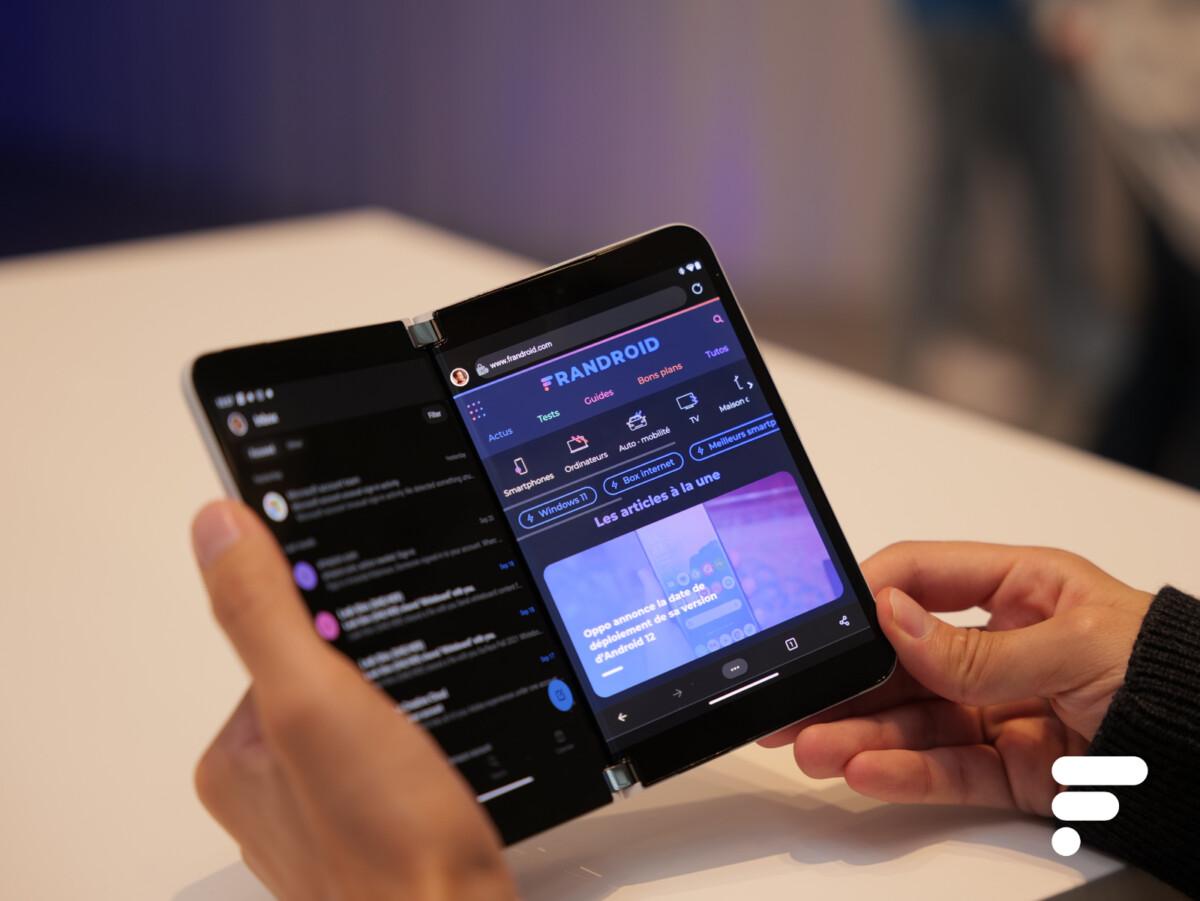 Prise en main du Microsoft Surface Duo 2 : entre design singulier et inquiétude sur la suite