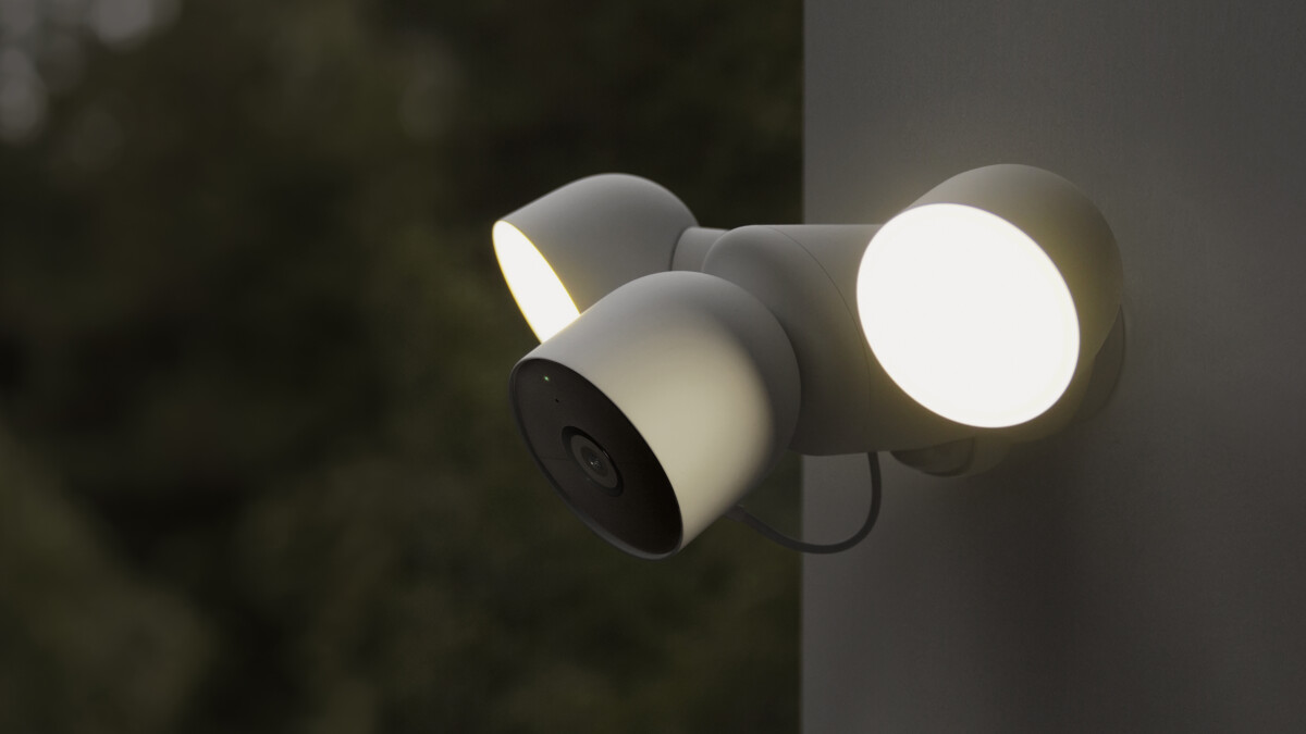 La caméra Google Nest Cam avec projecteur