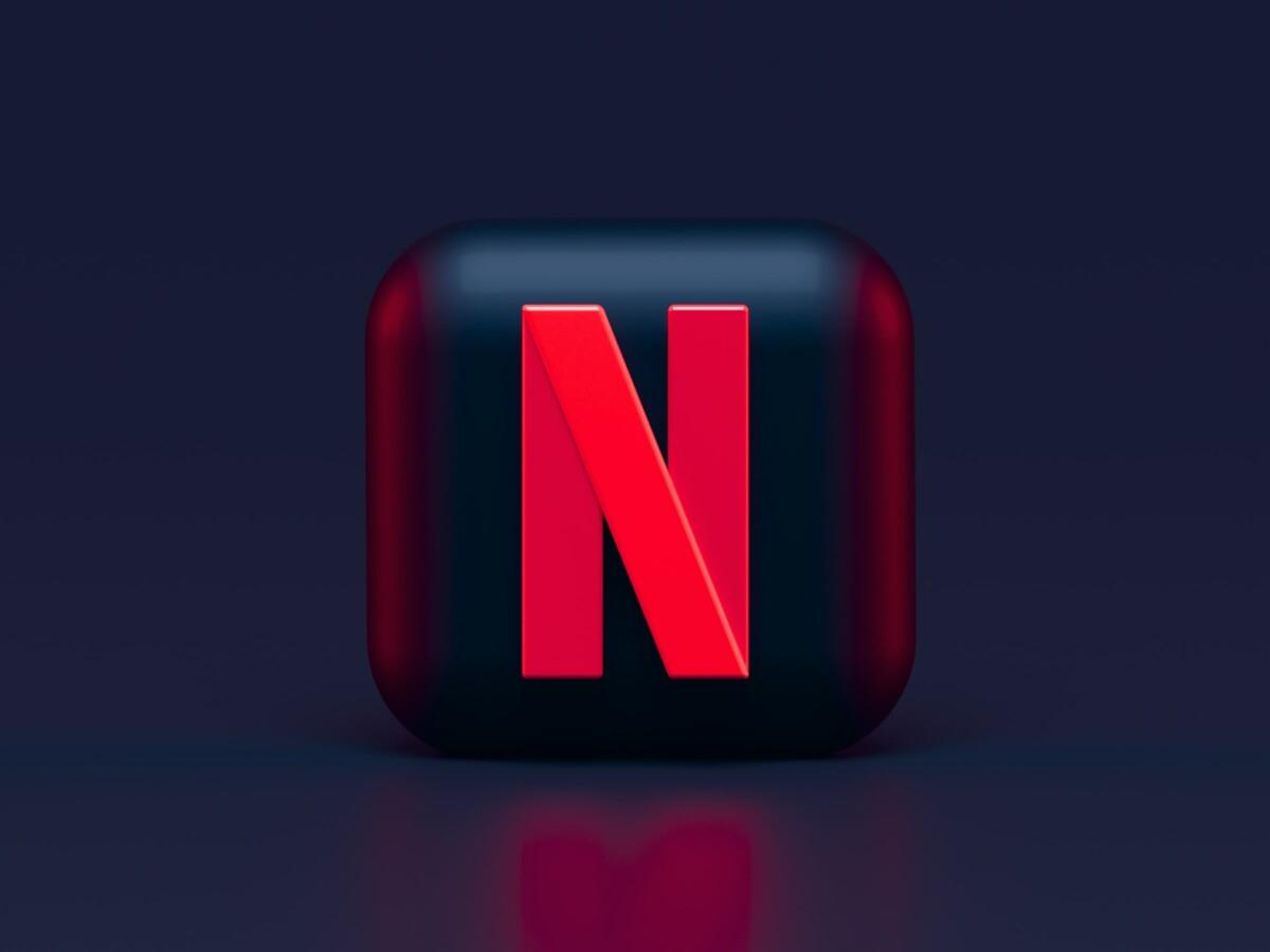 Le N de Netflix sur un cube