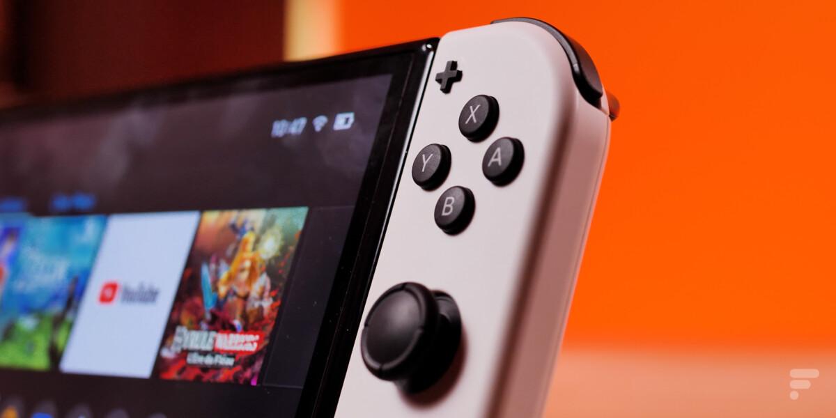 Nintendo Switch OLED joystick