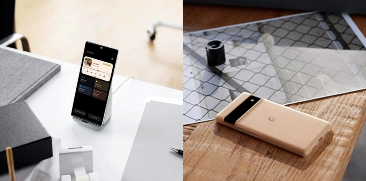 Les accessoires du futur Pixel 6 se montrent avec un peu d'avance