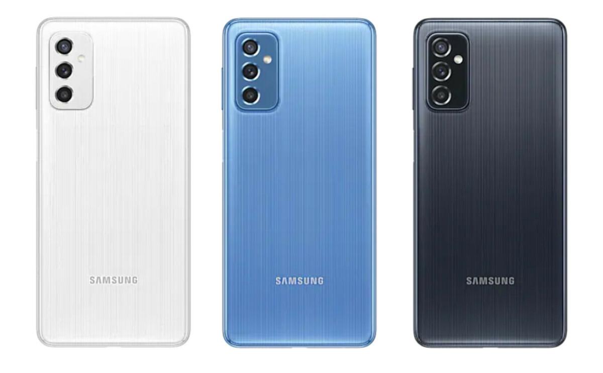 Le Samsung GalaxyM52 5G est disponible en trois coloris