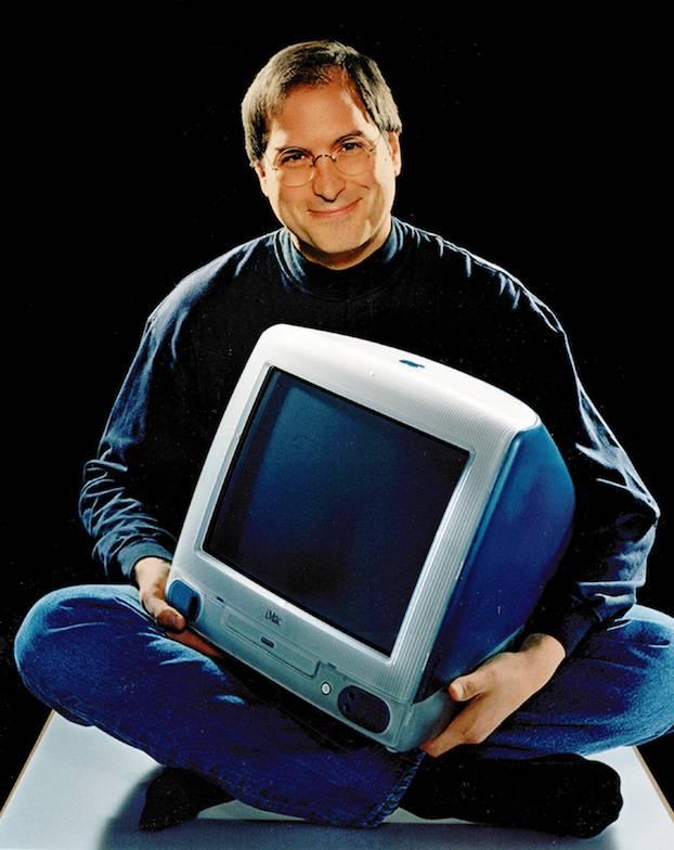 Steve Jobs et l'iMac G3