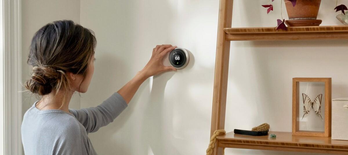 Un thermostat connecté Nest