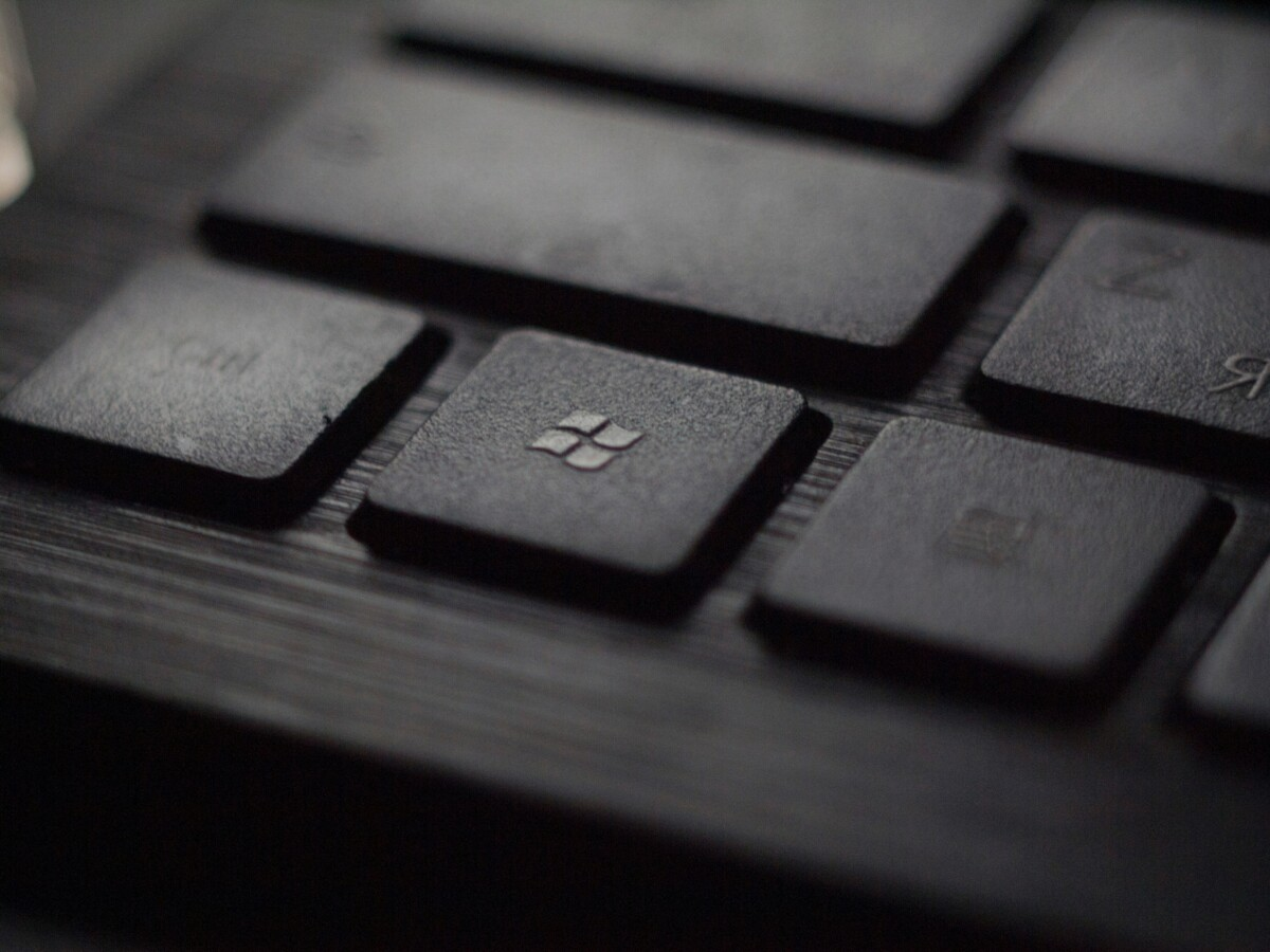 Touche Windows sur un clavier