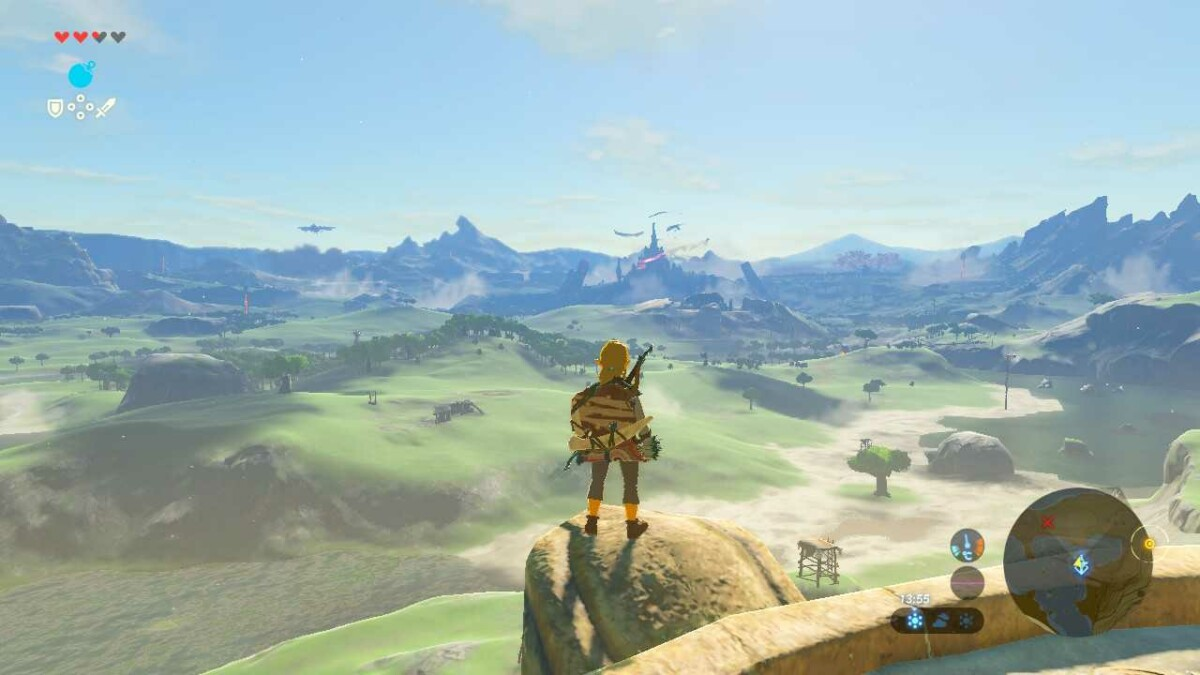 Zelda Breath of the Wild sur Nintendo Switch OLED